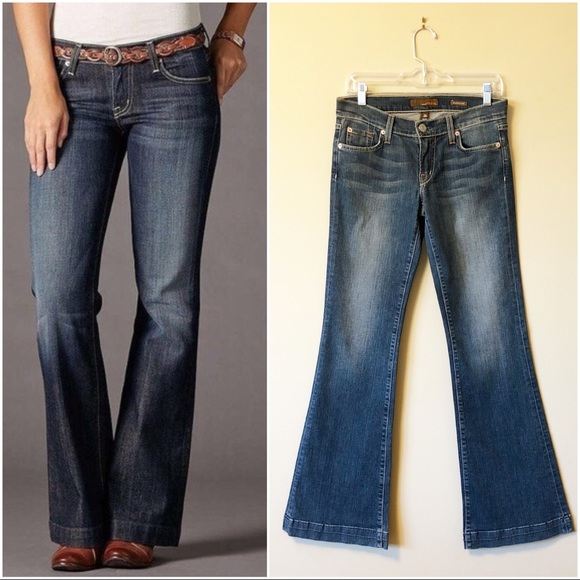 Fossil Denim - Fossil | Never-worn medium wash relaxed flare jean